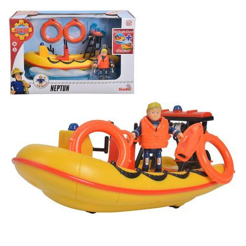 Rettungsboot Neptun | mit Spielfigur Penny | Feuerwehrmann Sam – Bild 1
