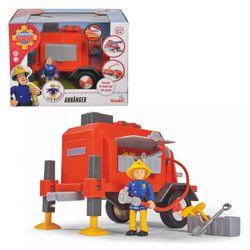 Anhänger mit Wasserspritzfunktion   inkl. Spielfigur Penny   Feuerwehrmann Sam 001
