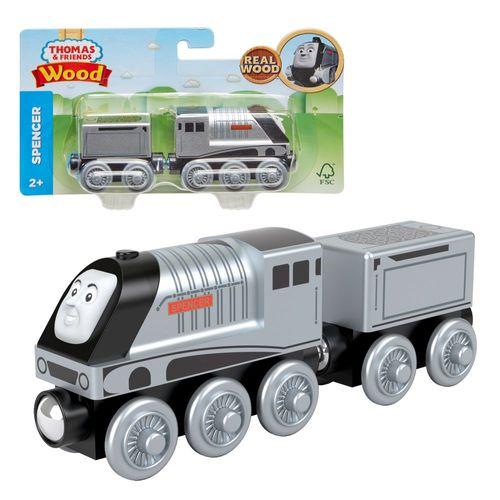 Spencer | Mattel GGG68 | Holzeisenbahn Lokomotive | Thomas & seine Freunde