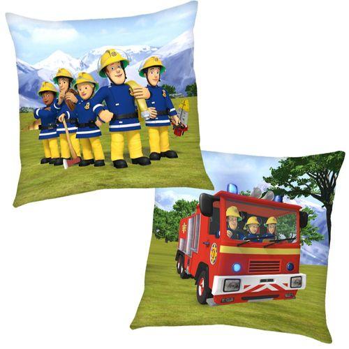 Bergrettung | Kinder Kissen 40 x 40 cm | Feuerwehrmann Sam | Dekokissen – Bild 1