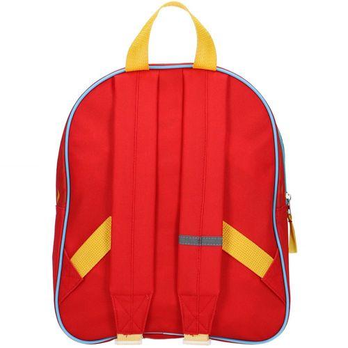 Rucksack | Feuerwehrmann Sam | 30 x 23 x 10 cm | Team Sam | Kindergartentasche – Bild 3