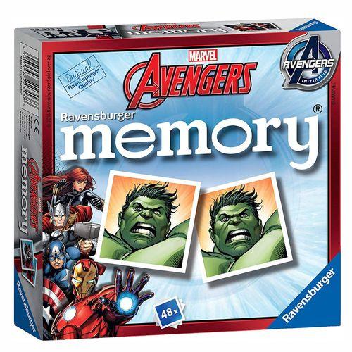 Mini Memory® | 48 Bildkarten | Marvel Avengers | Ravensburger | Spiel – Bild 1