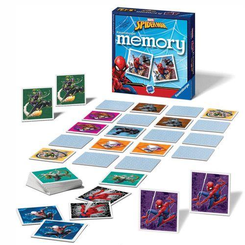 Mini Memory® | 48 Bildkarten | Marvel Spider-Man | Ravensburger | Spiel – Bild 2