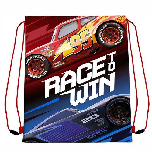 Sportbeutel Race To Win | Disney Cars 3 | McQueen & Jackson Storm | 40 x 30 cm