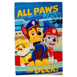 All Paw's on Deck! | Decke Fleece | 100 x 140 cm | Paw Patrol | Kuscheldecke 001