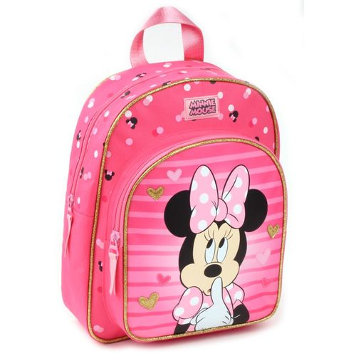 Looking Fabulous Maus | Kinder Rucksack 31 x 25 x 12 cm​ | Minnie Mouse – Bild 1