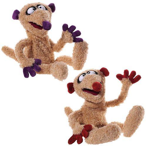 Jan & Henry | Handpuppen-Set | Sandmann | 38 cm | Handspiel Puppen als 2er Set