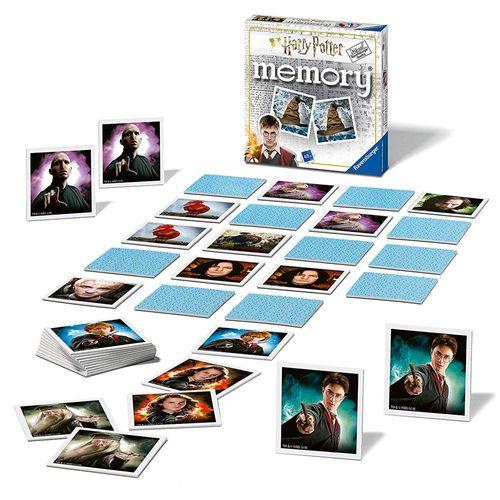Mini Memory® | 48 Bildkarten | Harry Potter | Ravensburger | Spiel – Bild 2