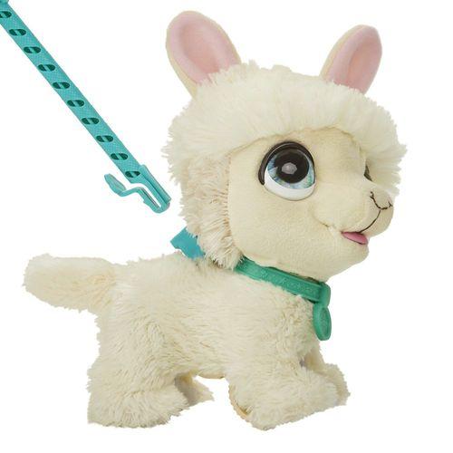 WalkaLots Spaziergänger Baby Lama | elektronisches Haustier | Hasbro FurReal – Bild 3