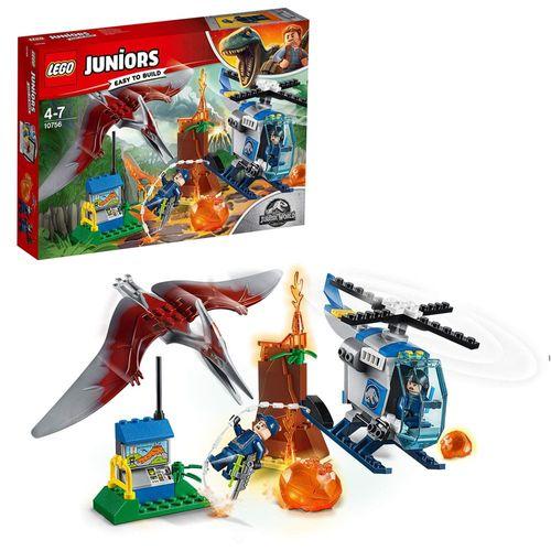Juniors Jurassic World | LEGO | Flucht vor dem Pteranodon | Spielset 10756 – Bild 1