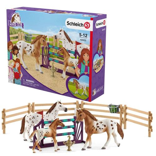 Lisas Turnier-Training | Schleich | Sammelfiguren | Set Pferde | Horse Club – Bild 1