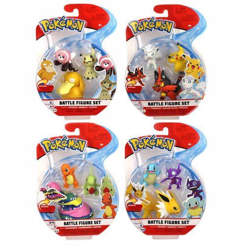 Auswahl Battle Figuren | 3er Set | Pokemon | Action Spielfiguren zum Sammeln – Bild 1