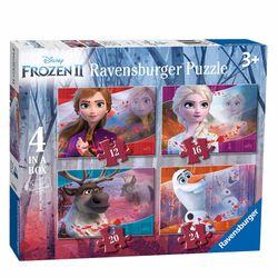 4 in 1 Puzzle Box | Disney Frozen II Eiskönigin | Ravensburger | Kinder Puzzle