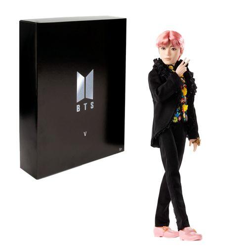 V | BTS | Mattel GKD01 | Prestige Sammlerpuppe | Bangtan Boys | Boygroup – Bild 1