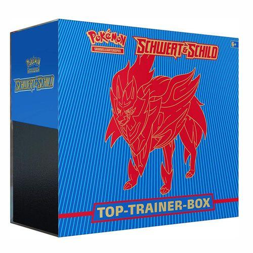 Zamazenta | Pokemon | Top-Trainer-Box blau Schwert & Schild | Sammelkarten-Spiel