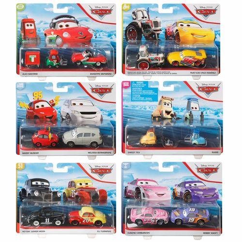 Auswahl Doppelpack | Disney Cars | Fahrzeug Modelle 2020 | Cast 1:55 | Mattel – Bild 1