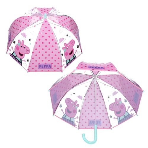 Stockschirm Peppa | Peppa Wutz | Peppa Pig | Kinder Regenschirm – Bild 2