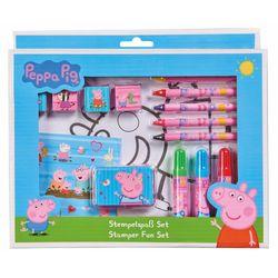 Stempel-Set | 26-teilig | Peppa Wutz | Peppa Pig | Kreativ Set | Stempelspaß