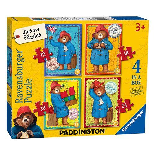 4 in 1 Puzzle Box | Paddington | Ravensburger | Kinder Puzzle | Bär – Bild 1