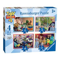 4 in 1 Puzzle Box | Toy Story 4 | Ravensburger | Kinder Puzzle | Woody, Forky 001