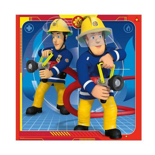Kinder Puzzle Box | Feuerwehrmann Sam | 3 x 49 Teile | Ravensburger – Bild 2