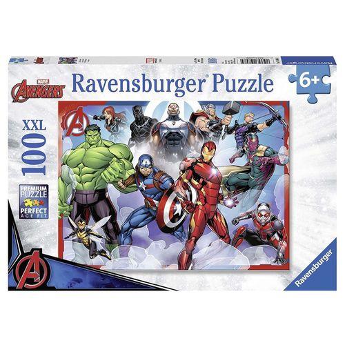 Puzzle XXL | 100 Teile | Marvel Avengers | Ravensburger | Superhelden Endgame – Bild 1