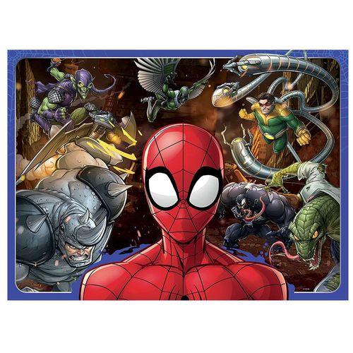Puzzle XXL | 100 Teile | Marvel Spiderman | Ravensburger | Mutiger Spider-Man – Bild 2