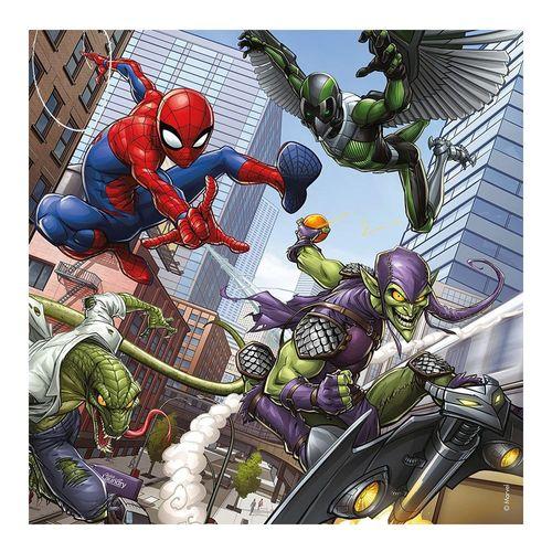 Kinder Puzzle Box   Marvel Spiderman   3 x 49 Teile   Ravensburger   Spider-Man – Bild 4