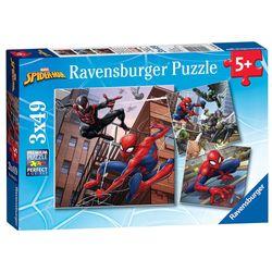Kinder Puzzle Box | Marvel Spiderman | 3 x 49 Teile | Ravensburger | Spider-Man