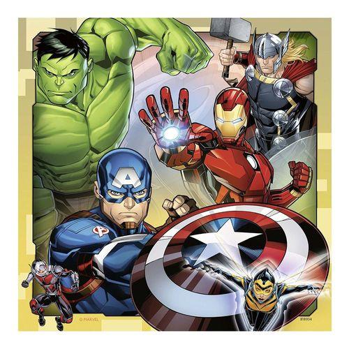 Kinder Puzzle Box | Marvel Avengers | 3 x 49 Teile | Ravensburger | Superhelden – Bild 2