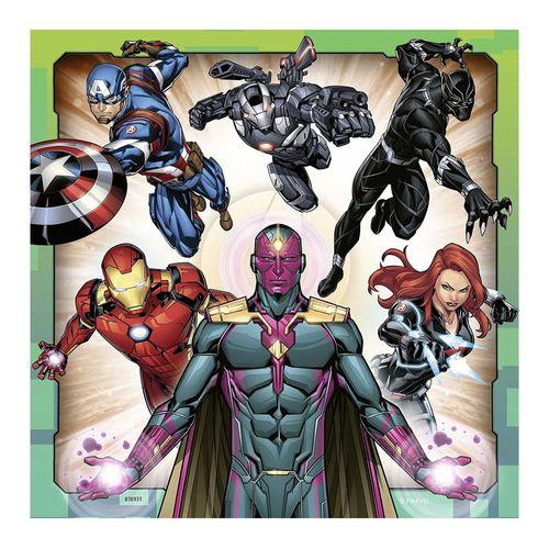 Kinder Puzzle Box | Marvel Avengers | 3 x 49 Teile | Ravensburger | Superhelden – Bild 3