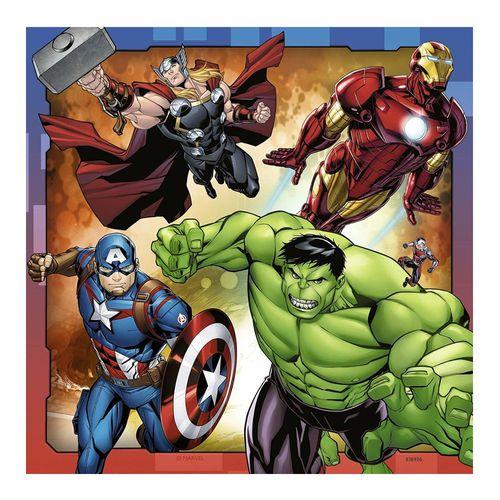 Kinder Puzzle Box | Marvel Avengers | 3 x 49 Teile | Ravensburger | Superhelden – Bild 4
