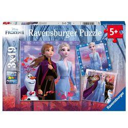 Kinder Puzzle Box | Disney Frozen II Eiskönigin | 3 x 49 Teile | Ravensburger 001