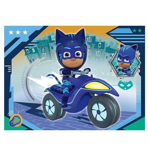 4 in 1 Kinder Puzzle Box | Ravensburger | Pyjamahelden  | PJ Masks – Bild 2