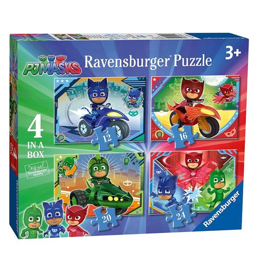 4 in 1 Kinder Puzzle Box | Ravensburger | Pyjamahelden  | PJ Masks – Bild 1