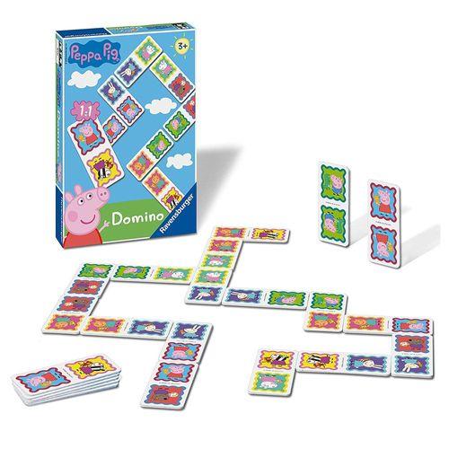 Domino Legespiel | Peppa Wutz | Peppa Pig | Ravensburger | 28 Spiel-Karten – Bild 2