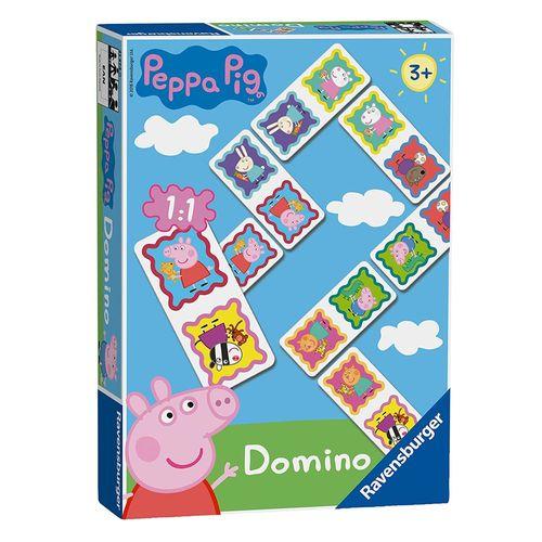 Domino Legespiel | Peppa Wutz | Peppa Pig | Ravensburger | 28 Spiel-Karten – Bild 1