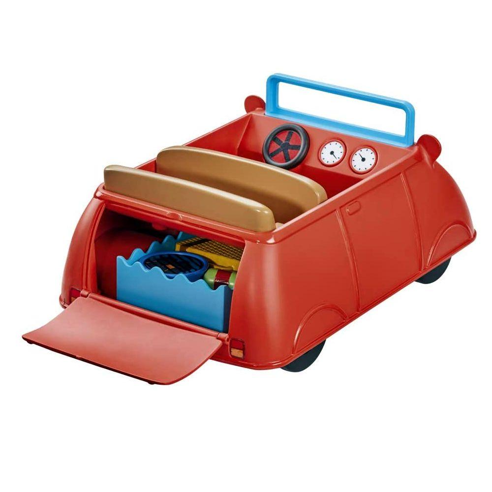 Peppa Pig 6921 Peppas Big Red Car, rot: : Spielzeug