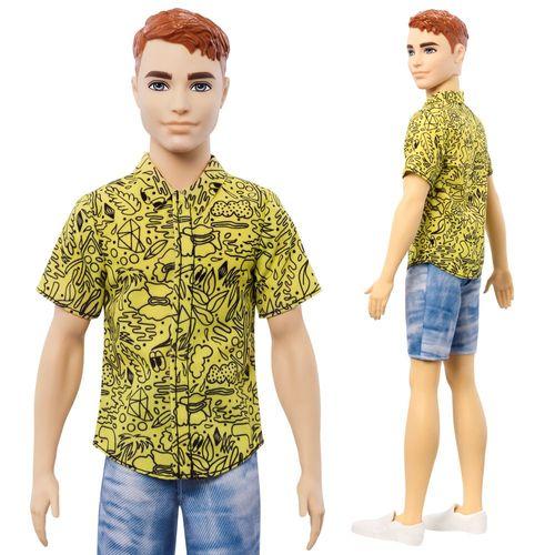 Bermuda Style Ken   Barbie   Mattel GHW67   Original Fashionistas 139   Puppe – Bild 2