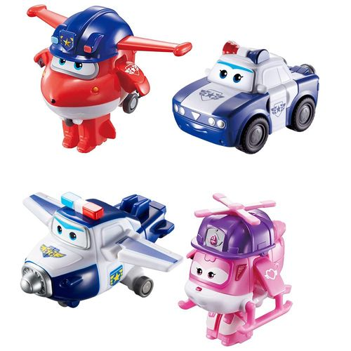 Rettungsteam Jett, Paul, Kim & Dizzy | Super Wings | Set Mini Transform – Bild 2