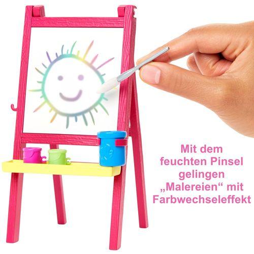Kunstlehrerin   Barbie   Puppe Spielset & Accessoires   Mattel GJM29 – Bild 4