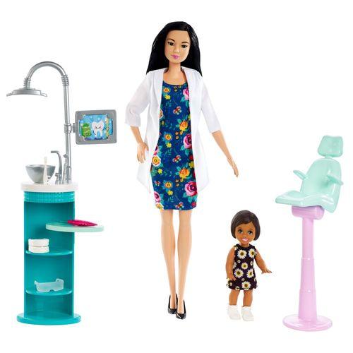 Zahnärztin | Barbie | Puppe Spielset & Accessoires | Mattel FXP17 – Bild 2