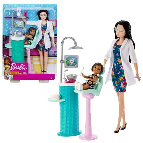 Zahnärztin | Barbie | Puppe Spielset & Accessoires | Mattel FXP17 – Bild 1