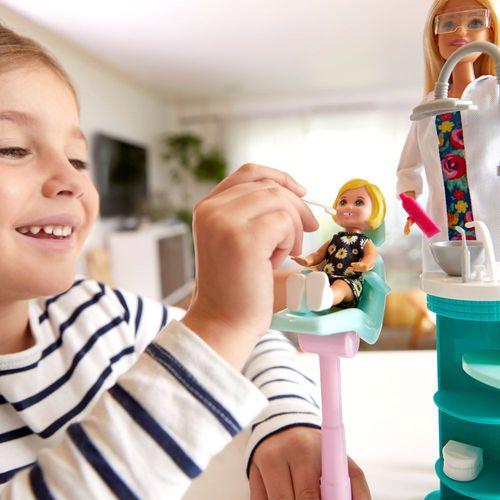 Zahnärztin blond   Barbie   Puppe Spielset & Accessoires   Mattel FXP16 – Bild 4