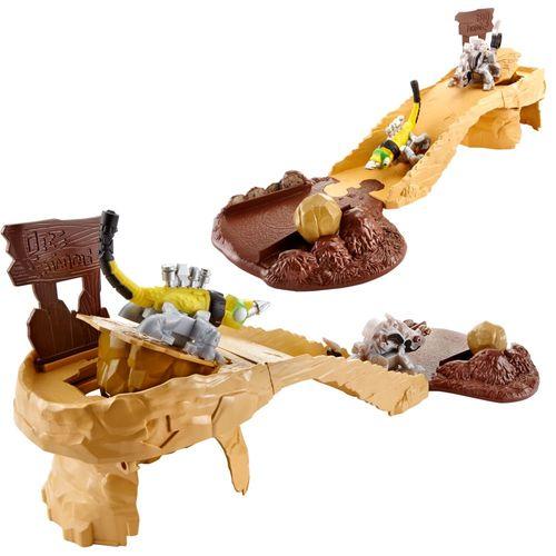 Reptos Rettungsaktion | DinoTrux | Rollende Reparatilien Spiel-Set | Mattel – Bild 2