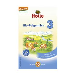 Holle Bio-Folgemilch 3, 600 gr Packung