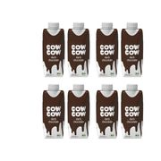 8 x Cow Cow Cow Cow Dark Chocolate, 330 ml Packung