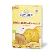 Sommer Butter Zwieback, 200 gr Packung
