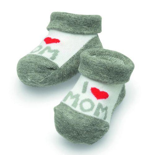 Camano Baby Söckchen  I Love Mom  Geschenkbox 1er Pack