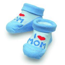 "Camano Baby Söckchen ""I Love Mom"" Geschenkbox 1er Pack"